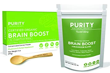 Amazon Com Brain Boost Nootropics Genius Supplement 110 Servings