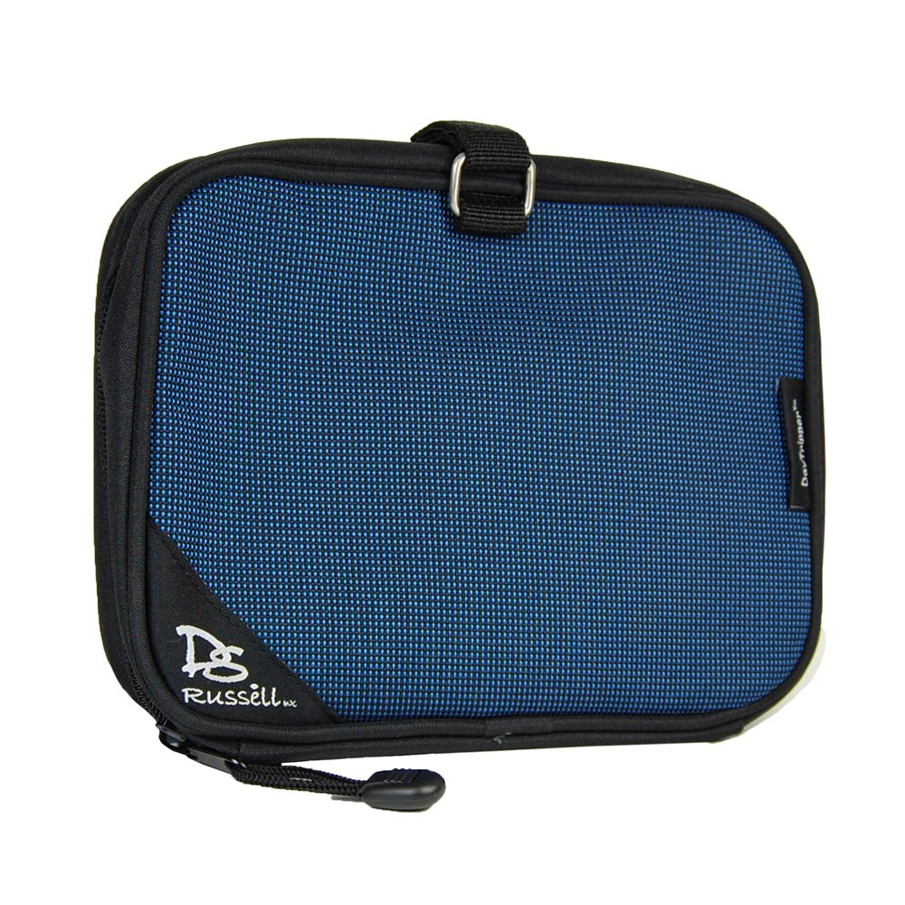 DS Russell DayTripper Daily Diabetic Accessory Bag (Coral Blue) by DS Russell