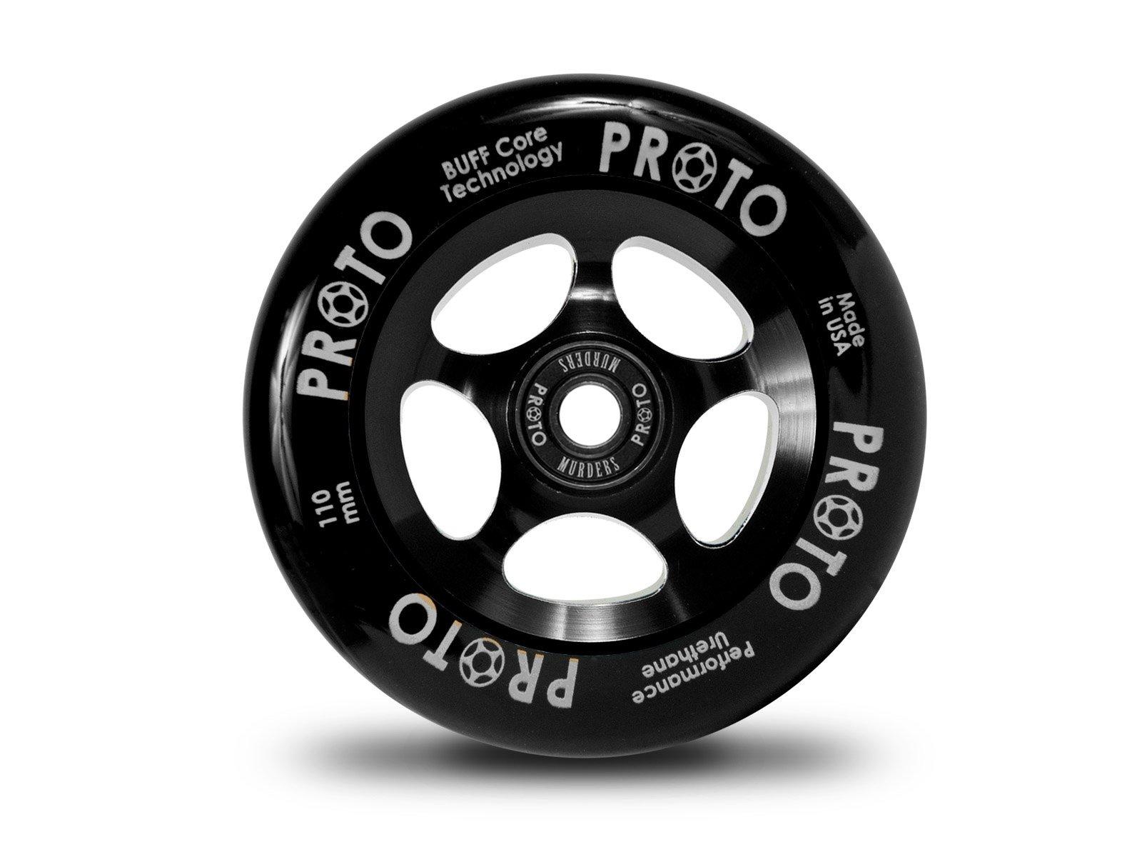 Proto Slider Wheel 110mm Black/Black