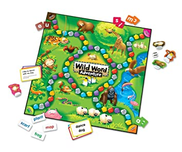 Wild Word Adventure Early Language Game, Languages - Amazon Canada