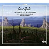 Spohr:Complete Symphonies [NDR Radiophilharmonie Hannover, Howard Griffiths] [Cpo: 555105-2]
