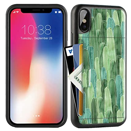 Amazon.com: ZVE Funda para Apple iPhone Xs y X, 5.8 pulgadas ...