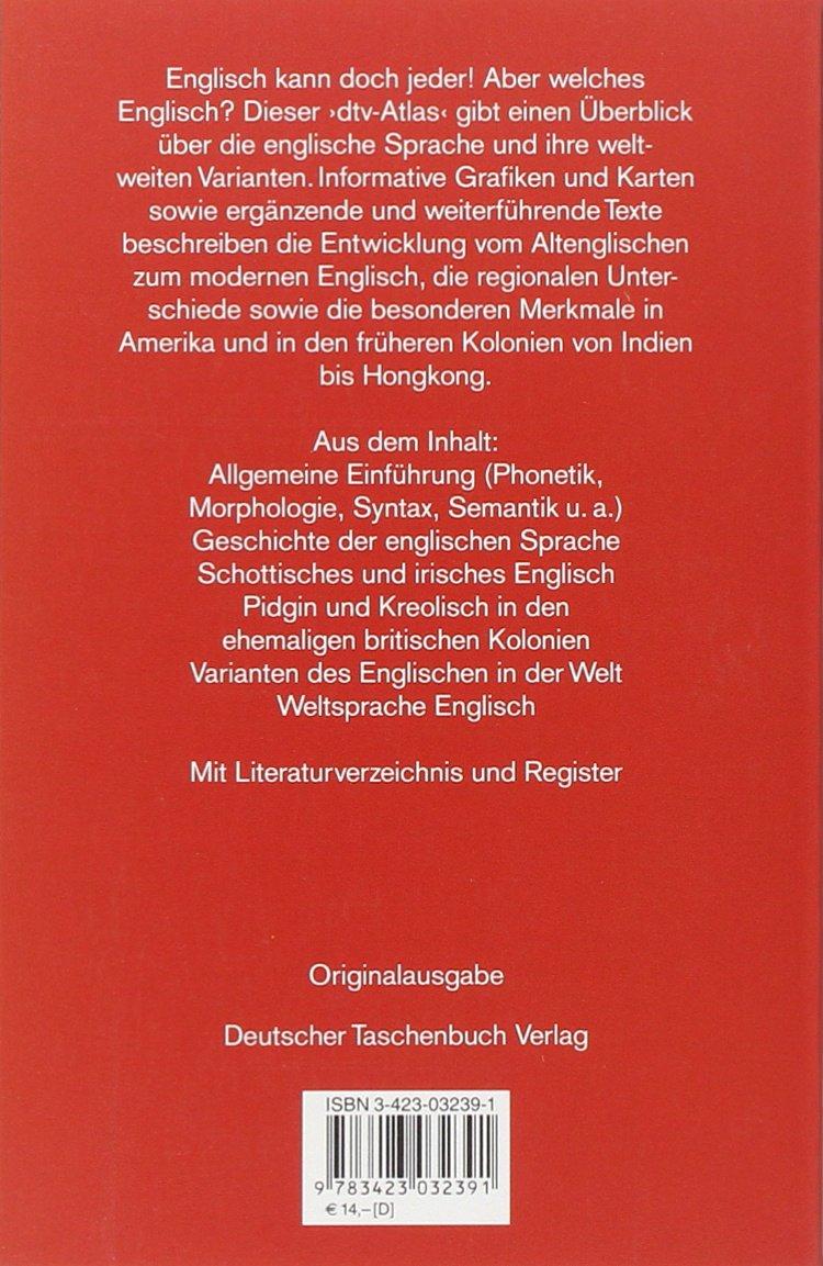 Dtv Atlas Englische Sprache Amazon De Karin Viereck Wolfgang