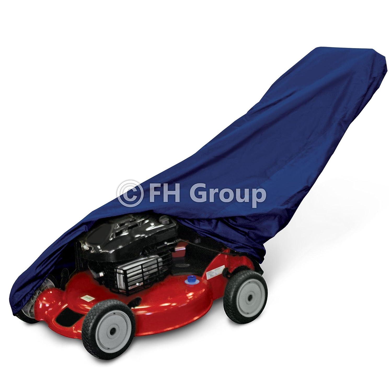 FH-LC706BLACK-L Premium Lawn Mower Cover 60'' x 24'' x 42'' Black Color FH Group
