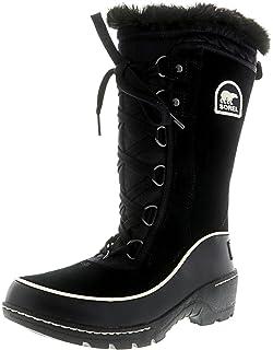 Sorel Bottes d'hiver Bottes Femmes Glacy Explorateur doublé NL1977-010 Noir, Schuhe Damen:40