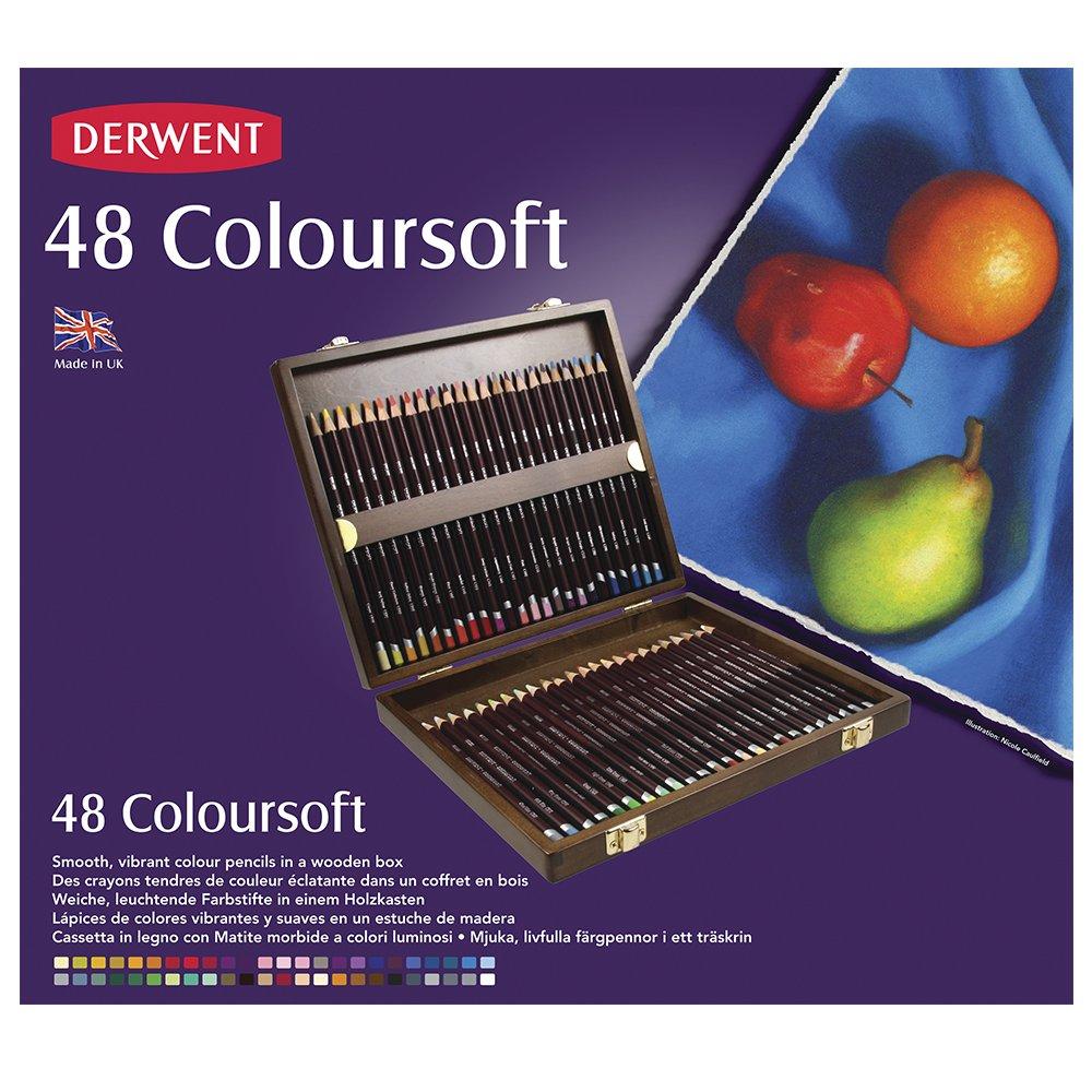 Derwent Coloursoft Matite Colorate in Scatola di Metallo (Confezione da 36) 701028 reikos_0019522742AM_0043199