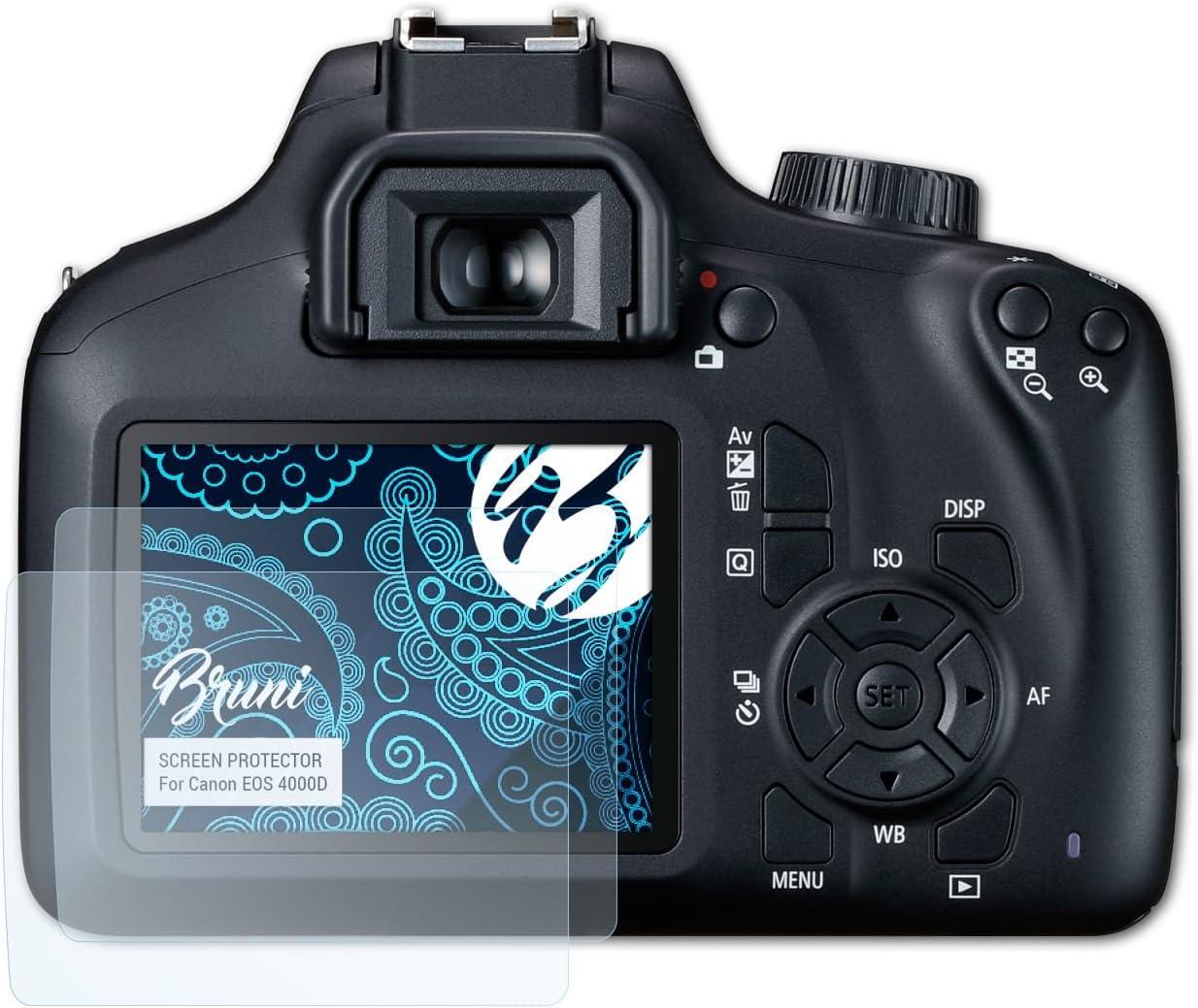 Bruni Película Protectora para Canon EOS 4000D Protector Película ...