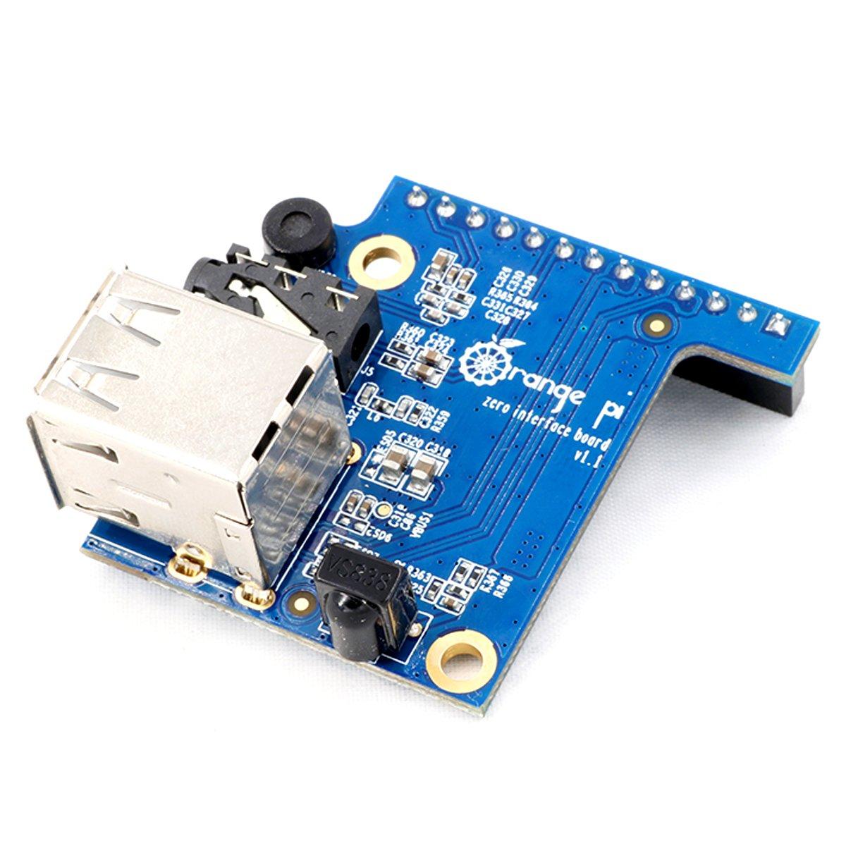 Makerhawk Orange Pi Zero Expansion Board Interface Development 512 Computers Accessories