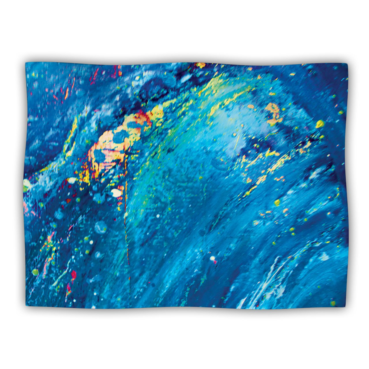 Kess InHouse Theresa Giolzetti ''Big Wave'' Pet Blanket, 60 by 50-Inch