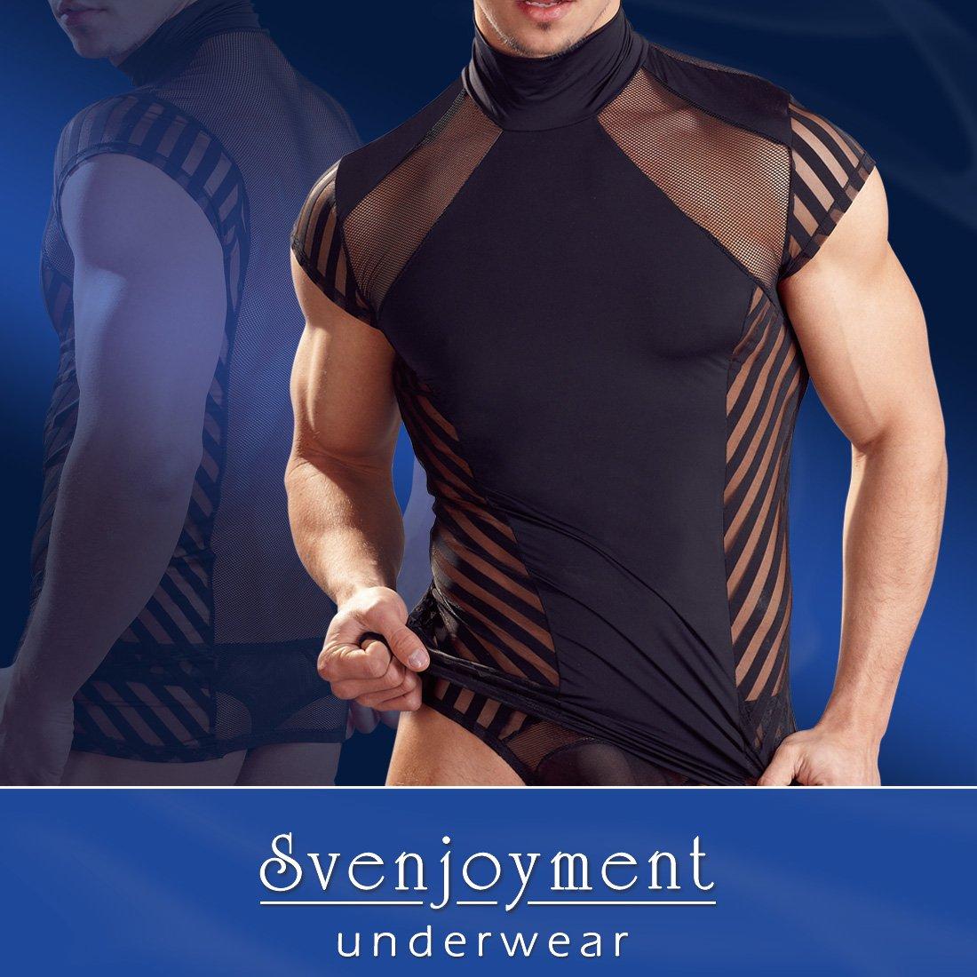 Svenjoyment Herren Stretch Shirt, groß groß 21604391721