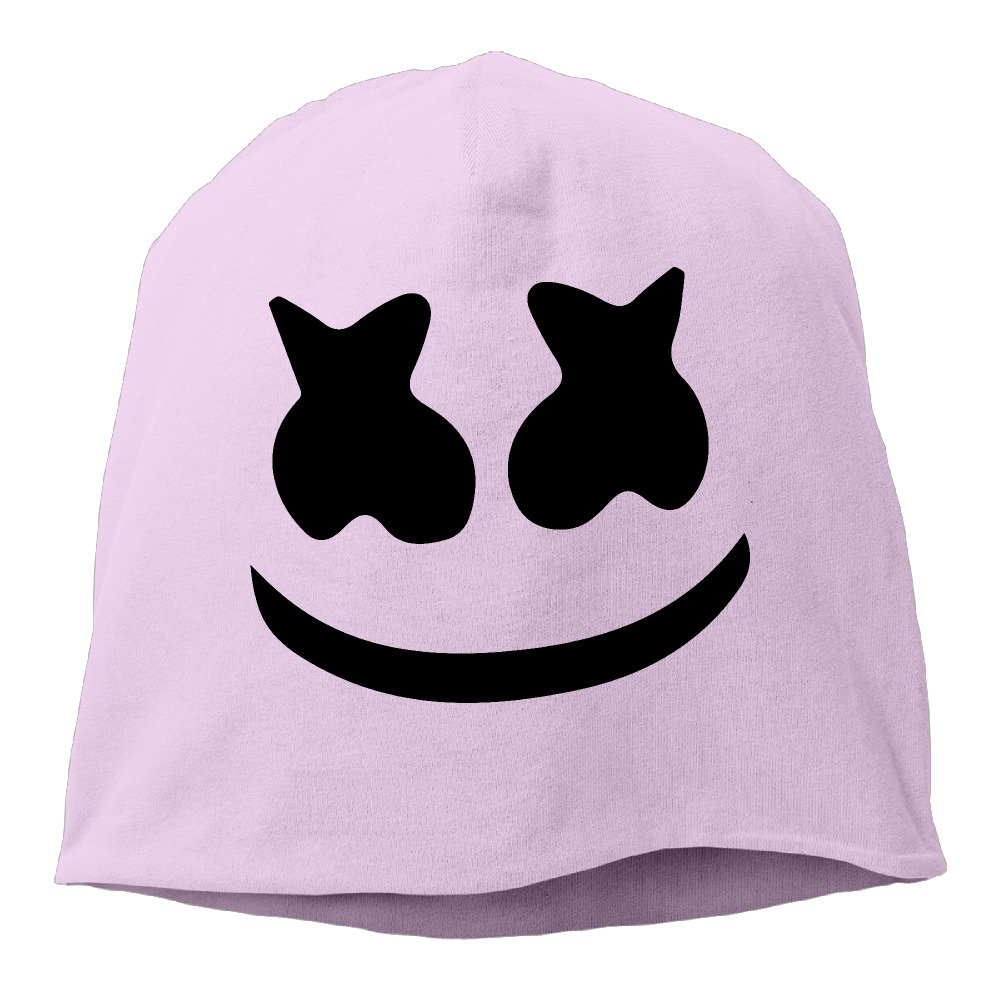 Unisex Beanie Hat Marshmello Face Skull Cap In 6 Colors