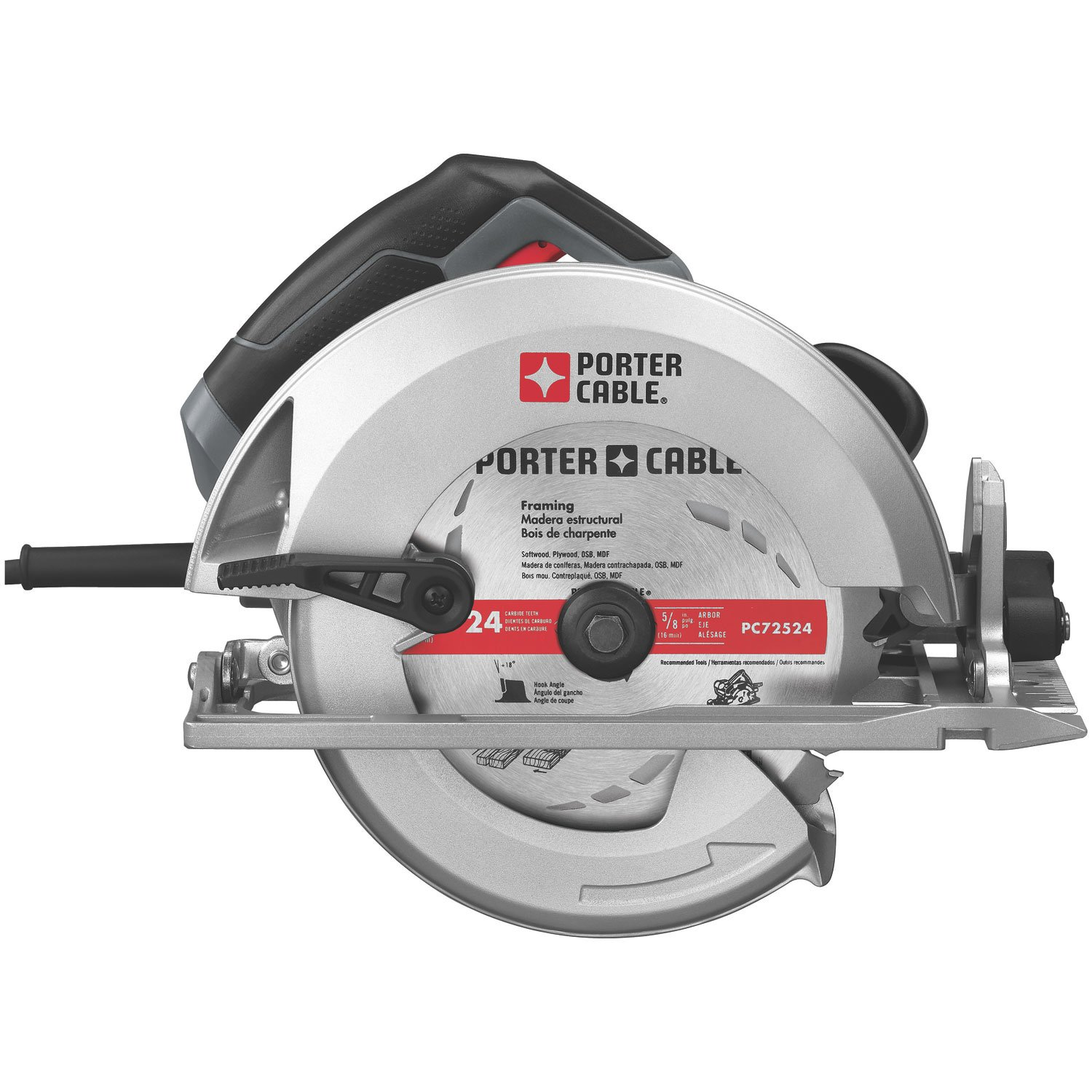 PORTER-CABLE PC15TCSMK 7-1/4-Inch 15 Amp Heavy-Duty Circular Saw ...
