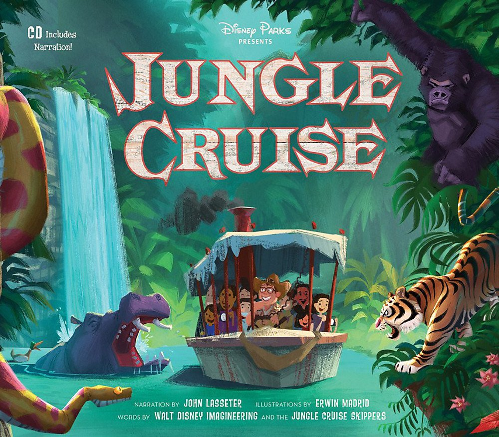 Disney Parks Presents: Jungle Cruise: Purchase Includes a CD with Narration! by Disney Press (Image #1)