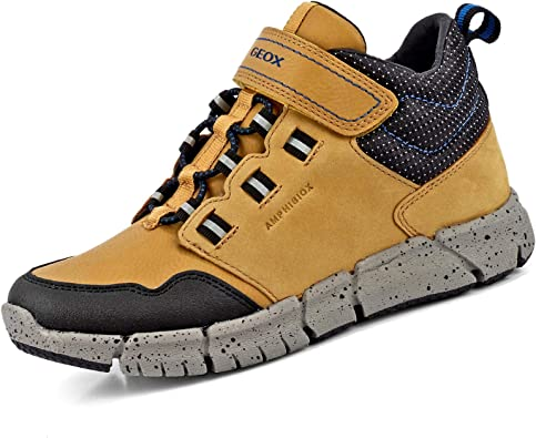 espíritu versus Indefinido  Geox Boys' J FLEXYPER B ABX Chukka Boot, Yellow (Dk Yellow/Royal C2gk4),  11.5 UK: Amazon.co.uk: Shoes & Bags