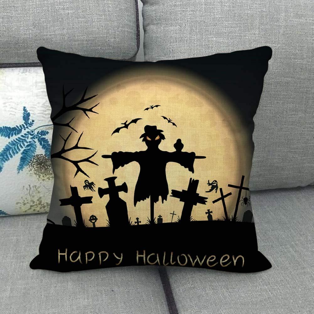 Hanyixue_Fundas De Cojines, Halloween Navidad Funda de ...