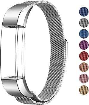 Swees For Fitbit Alta HR and Alta Band Metal Small