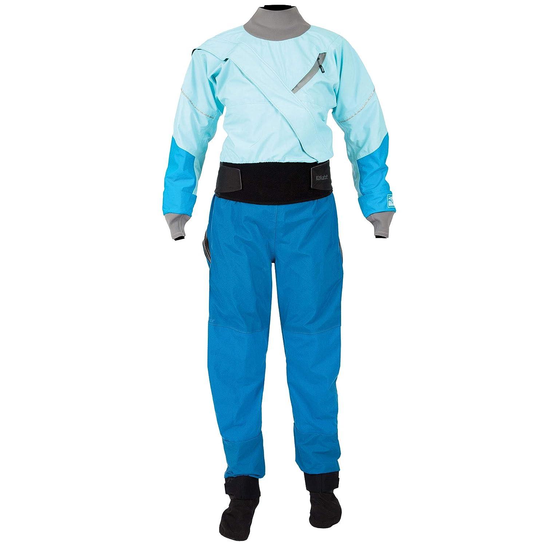 KokatatレディースGore - Tex Meridian Drysuit B078YFMW7T アイス Small Small アイス