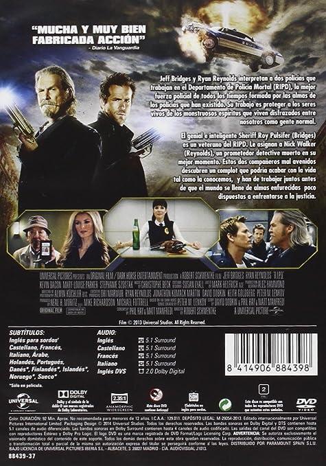 Departamento De Policía Mortal [DVD]: Amazon.es: Ryan Reynolds, Jeff ...