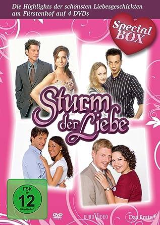 Sturm Der Liebe Special Box 4 Dvds Amazon De Lucy Scherer
