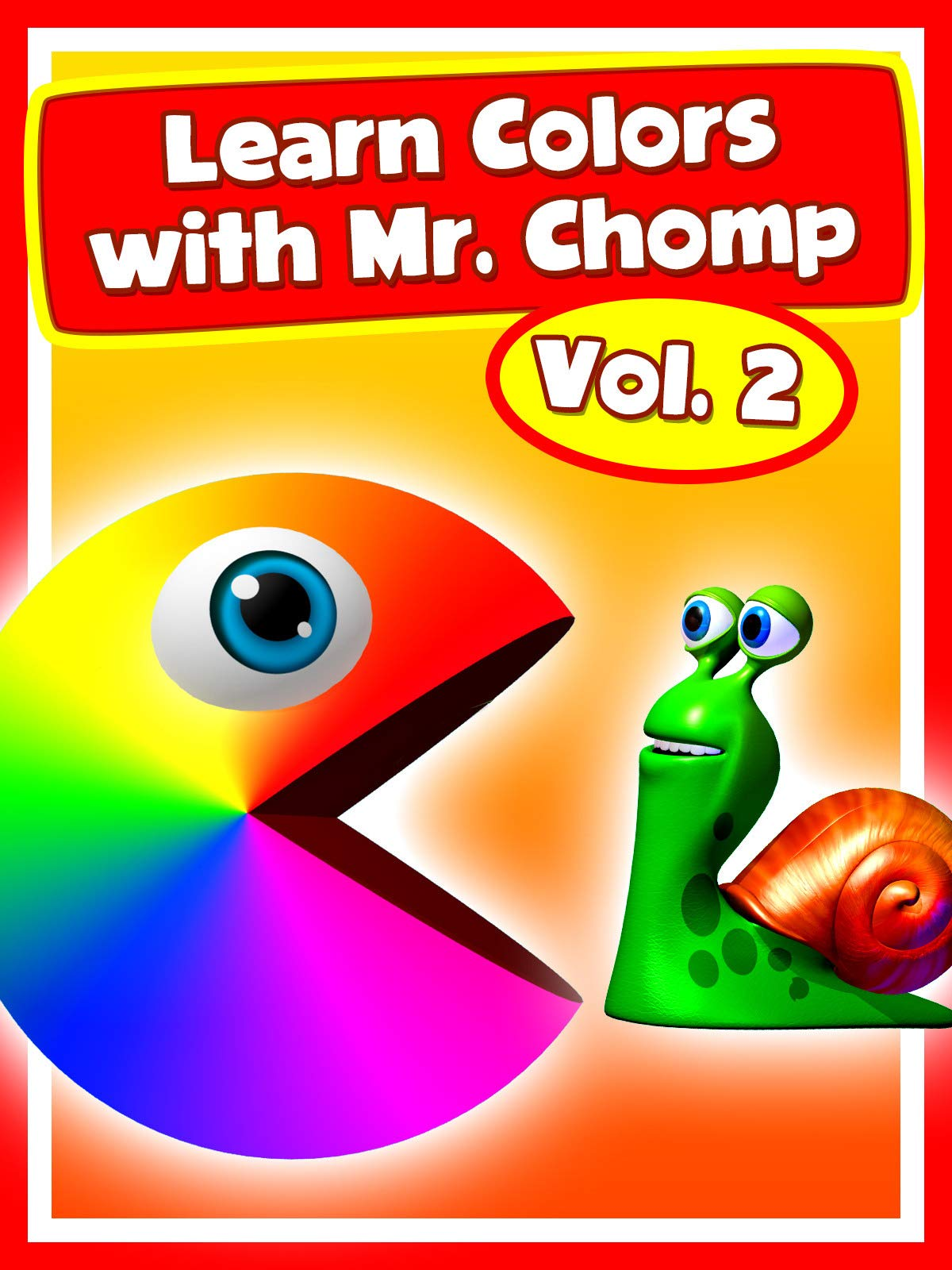 Learn Colors with Mr. Chomp Vol.2 on Amazon Prime Video UK