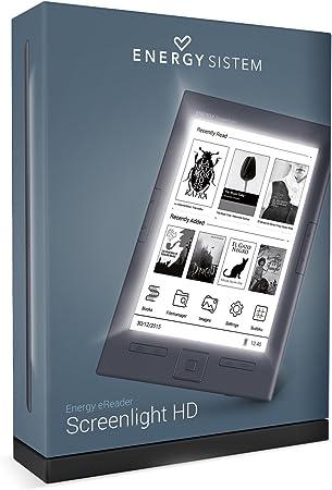 Energy Sistem - Lector de libro electrónico con luz de pantalla HD, de 6 pulgadas con papel HD E-ink y 8 GB de memoria.: Amazon.es: Electrónica