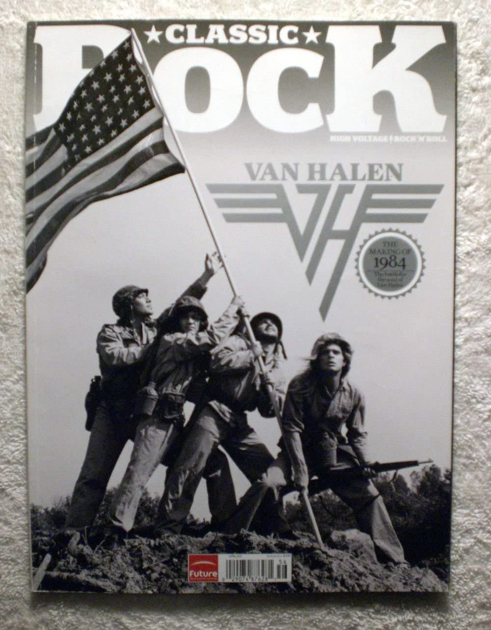 David Lee Roth Eddie Van Halen Alex Van Halen Michael Anthony Van Halen The Making Of 1984 Iwo Jima Theme Classic Rock Magazine 156 April 2011 Cr1 At Amazon S Entertainment Collectibles Store