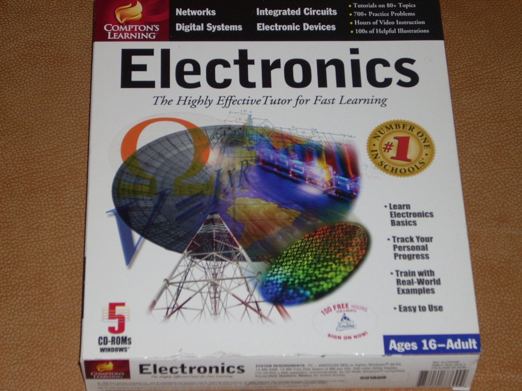 Comptons Learning Electronics Books Science Is Easy Series And Parallel Circuit