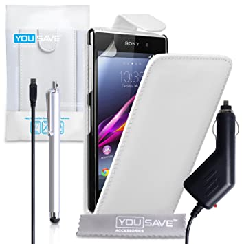 Yousave Accessories® de Piel sintética con Tapa Incluye lápiz ...