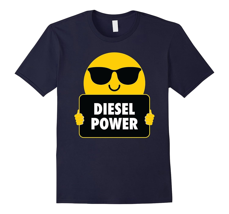 Diesel Power Shirt Sunglasses Emoji T-Shirt Tee-T-Shirt