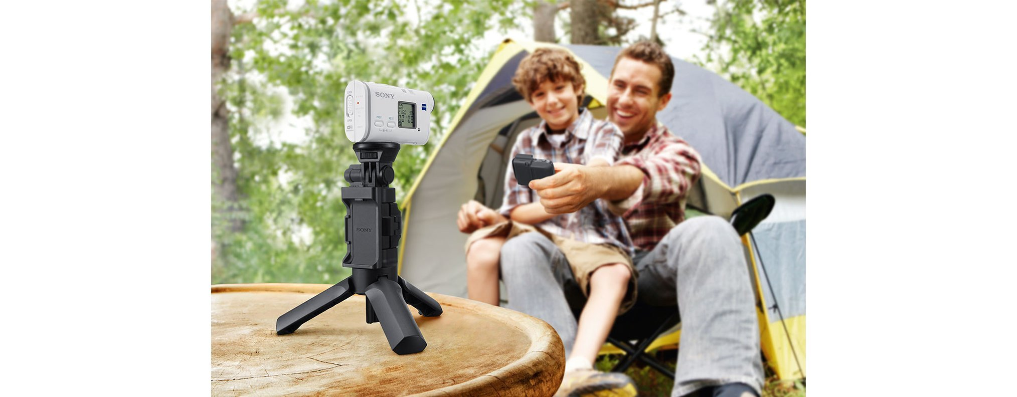 Sony VCT-STG1 Shooting Grip for Action Cam - Black by Sony