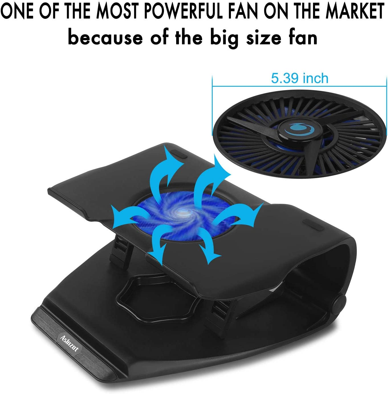 """Phone Laptop Notebook Cooling Fan USB Cooler Pad Computer Stand 15.6/""""17/"""" PC BT"""