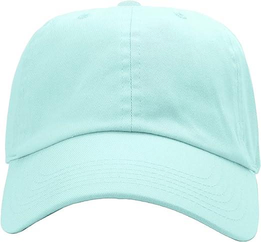 Taille r/églable Couleur unie Falari Lot de 12 casquettes de baseball