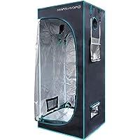 MarsHydro 70x70x160CM Refletierendes Membran Hydroponik Growzelt für Hydroponik Zimmerpflanzen Wachsen