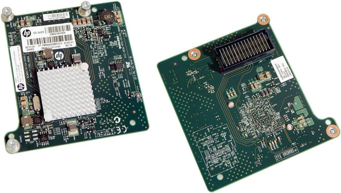 HP 657131-001 FLEX-10 10GB 2P 530M Adapter- 631884-B21, 631882-001