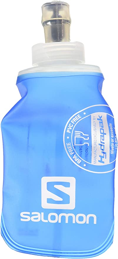 Salomon Unisex Blue Hydration Drink Bottle Soft Flask Speed 500ml