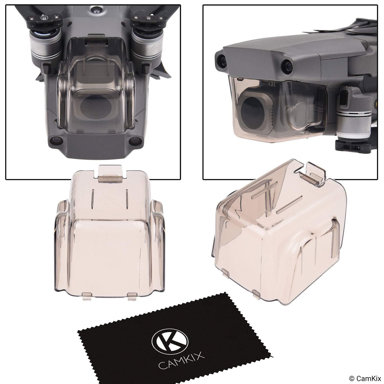 2in1 Blocco Bilanciere e Proteggi Telecamera per DJI Mavic 2 Pro – Blocca la Posizione dei Bilancieri – Protegge la Telecamera degli Impatti – Kit Essenziale Protezione Drone CamKix D0751-M2P-2CS