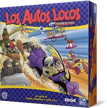 Edge Entertainment-Los Autos Locos el Juego de Mesa-Español, Color ...