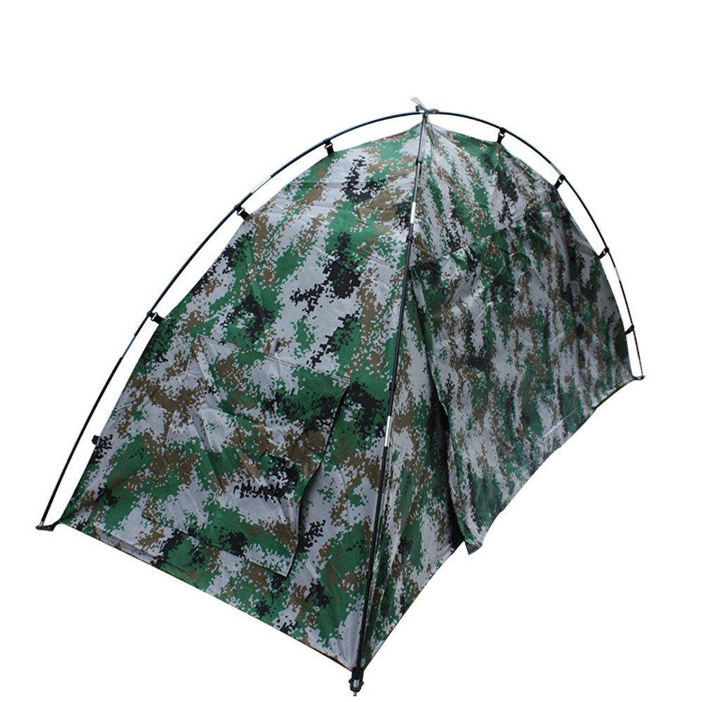 LJFYMX Tente de Camping Tente, Tente de Camping Simple, Tente à Dos 4 Saisons Tente 3 4 Personnes  -