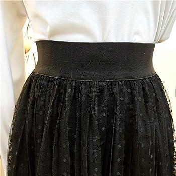 Faldas largas Tul Mujer Elegante Vintage/💖QIjinlook💖/ Faldas ...
