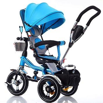 QXMEI Triciclo Infantil Carrito De Bebé Carrito 1-3-6 Triciclo ...
