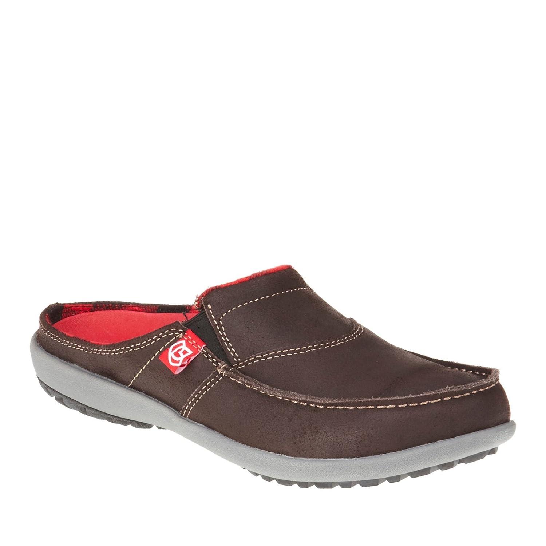104dde828b293 8 D(M) US , Dark Chocolate : Spenco Men's Siesta Canvas Slide Sandal ...