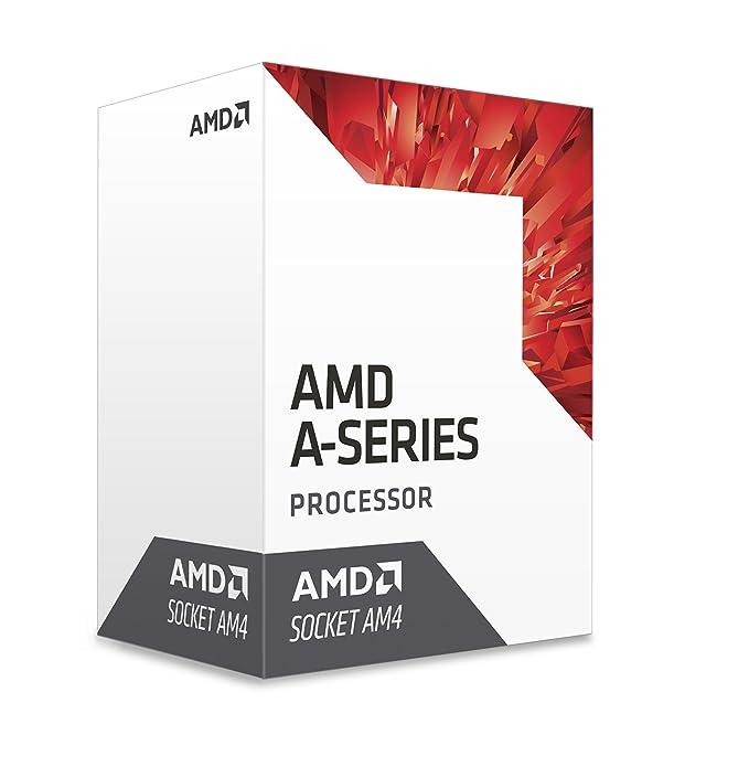 AMD 7th Gen A10 9700E APU, Caja - Procesador, Reloj Base 3GHz, Max Boost Clock 3.5GHz, Caché L2 Total 2MB