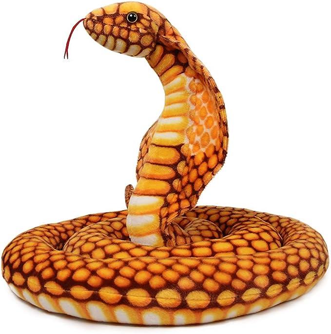 Plush Sand Filled Pets Snake Boa Python Decor Doll Animal Model Kids Gift Toy