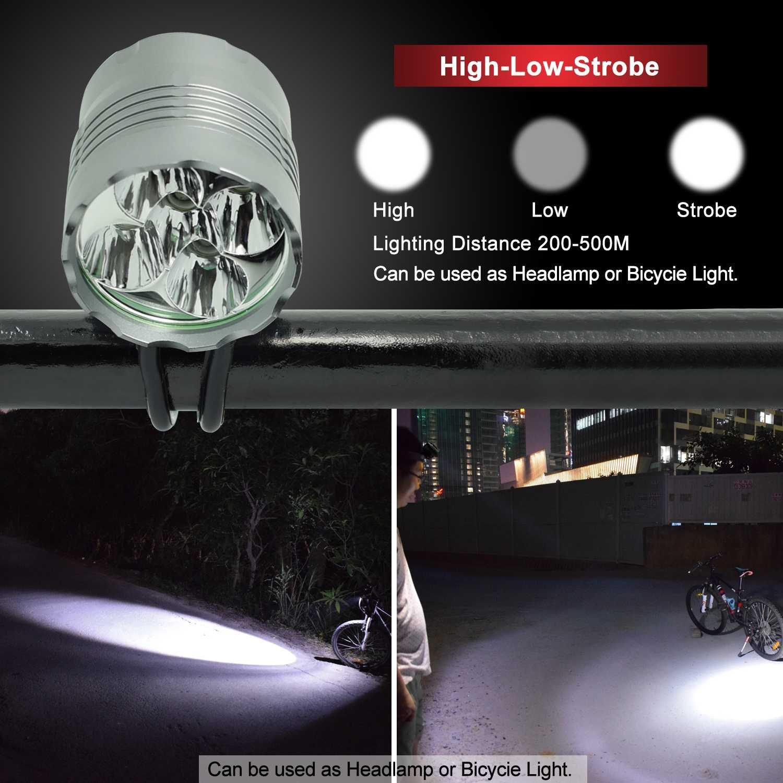 666efa46457 Wasafire LED Bike Light Set