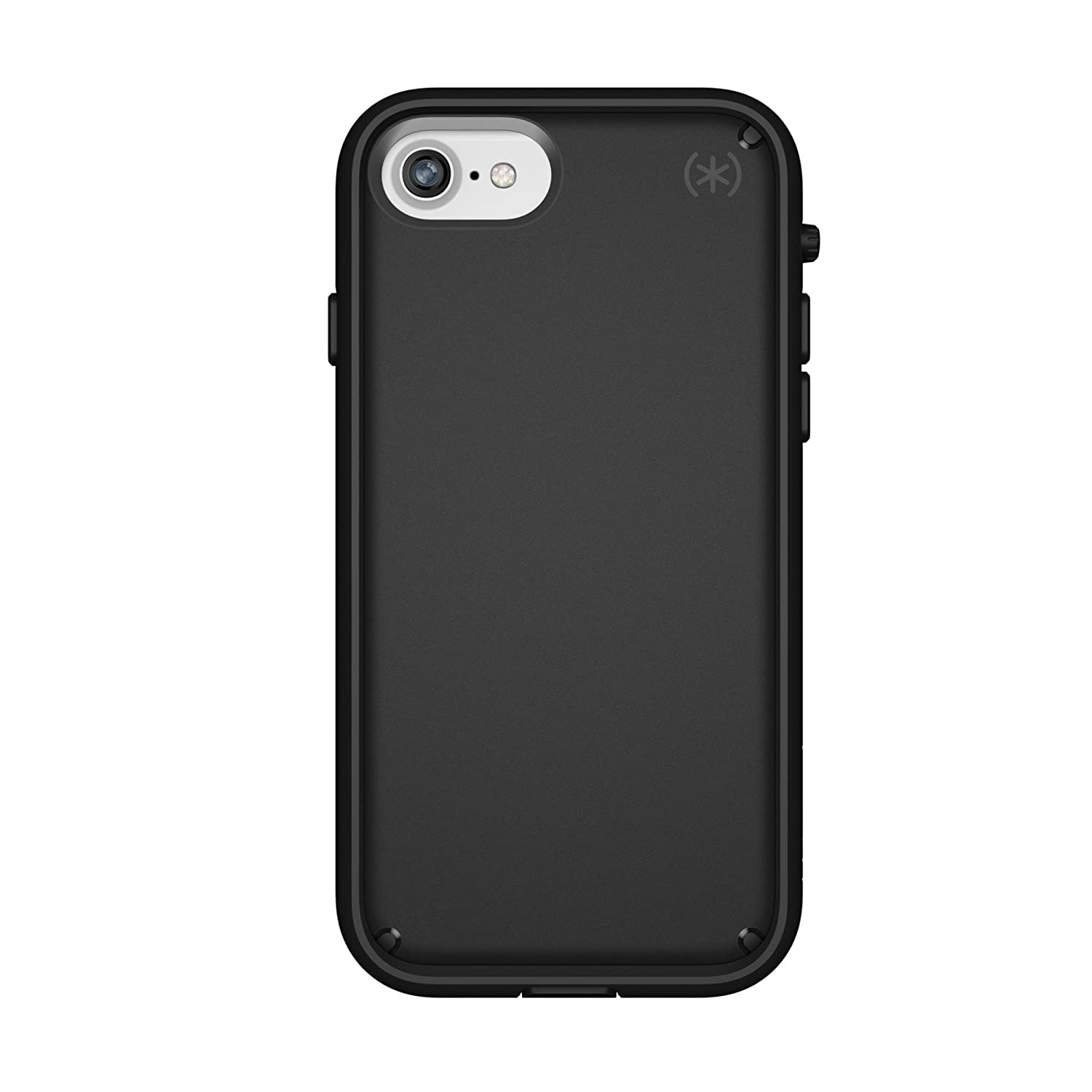 best service 6a03c 47c9f Speck Products Presidio Ultra Case for iPhone 8/7, Black/Black/Black