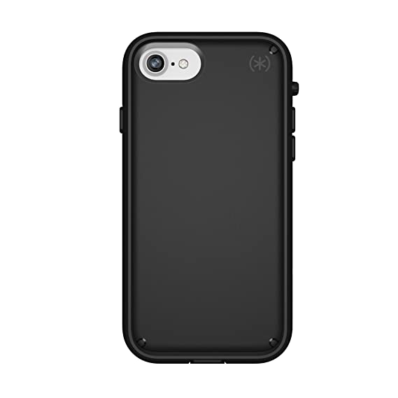 best service 2a0b3 ce8bd Speck Products Presidio Ultra Case for iPhone 8/7, Black/Black/Black