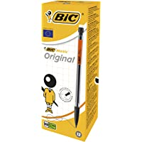 BIC 820959 Matic Original HB Mechanical Pencil (0.7 mm)- Assorted Body Colours, Box of 12