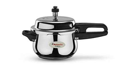 Butterfly Curve Stainless Steel Pressure Cooker, 3 Litre