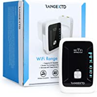 RANGEXTD WiFi Range Extender - WiFi Booster to Extend Range of WiFi Internet Connection | WiFi Signal Booster for Up to…
