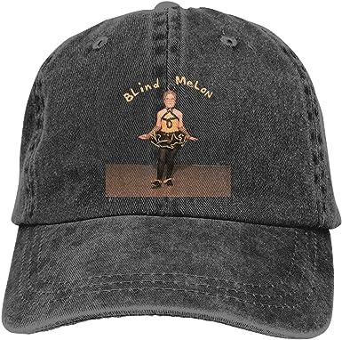 Yearzimn Unisex Denim Adjustable Baseball Cap Print with Blind Melon Washed Dad Cap